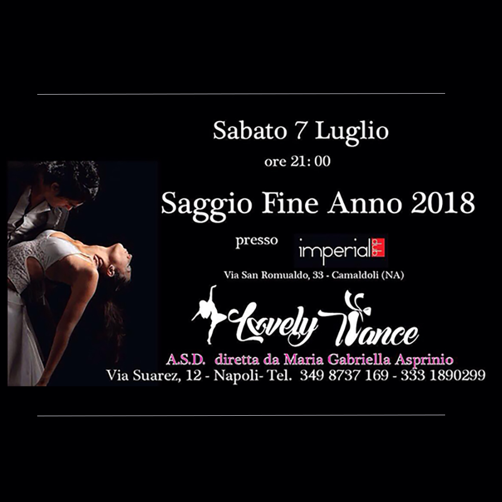 Saggio Lovely Dance – Imperial Club – Sabato | YouSalsa